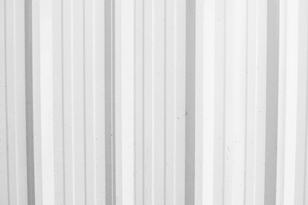 White Corrugated metal texture surface or galvanized steel background