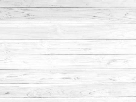 Fondo strutturato del modello di legno orizzontale bianco per il disegno decorativo o di struttura del lavoro. Archivio Fotografico