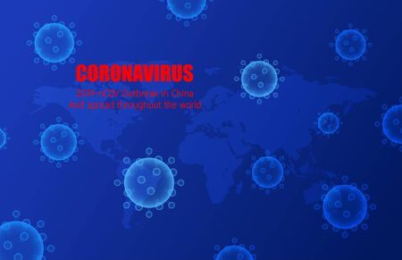 Coronavirus (2019-nC0V) Outbreak and spread throughout the world. The virus attacks health of respiratory tract.