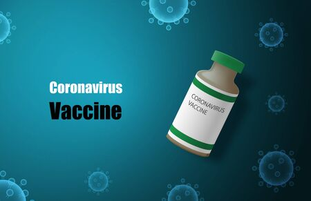Coronavirus (2019-nC0V) vaccine. The vaccines used to treat diseases that are currently spread around the world.