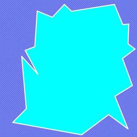 Background of broken glass vector illustration. Blue and blue color Illustration