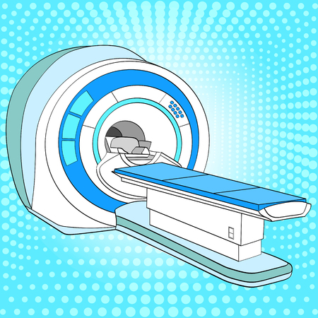CT scanner computerized tomography scanner , MRI magnetic resonance imaging machine, medical equipment.