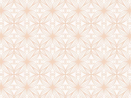 Geometric background from flowers. uniform pattern background.