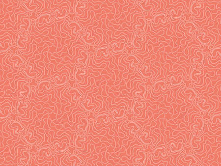 Geometric background from flowers red. Uniform pattern background.