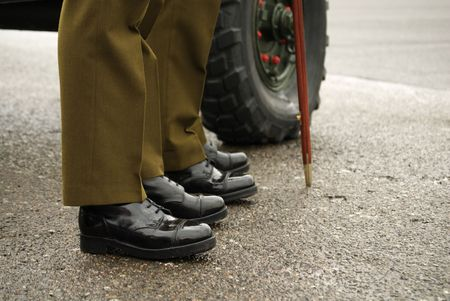 shiney: Soldiers Shiney Shoes