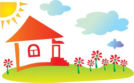 new homes: Fun Cartoon House