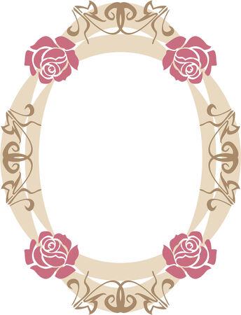 romance bed: Frame 4 Illustration