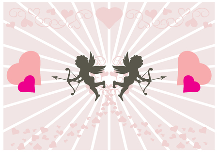 Two little cupids