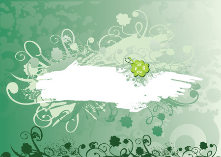 green backgrounds Vector