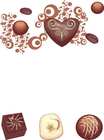 Bonbons Vector Illustratie