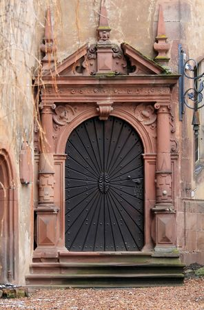 door in castle Stock Photo - 2813759