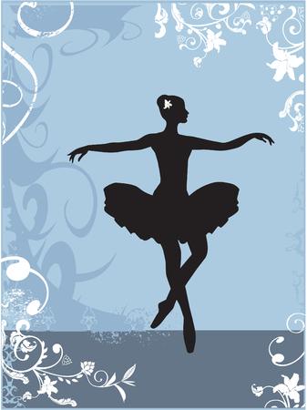 ballerina 일러스트