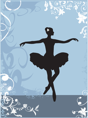 ballerina Stock Vector - 3096752
