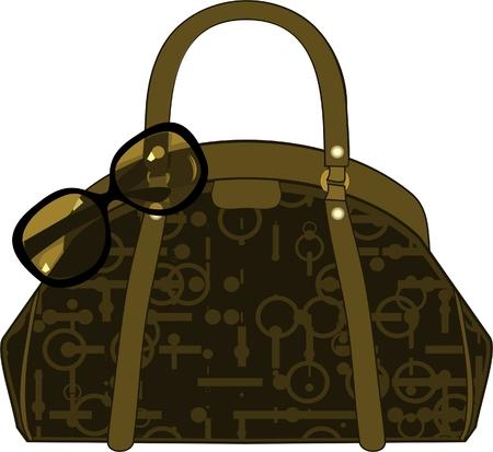 handbag 矢量图像
