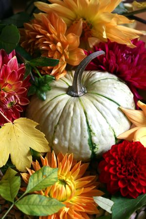 autumn arrangement: autumn arrangement