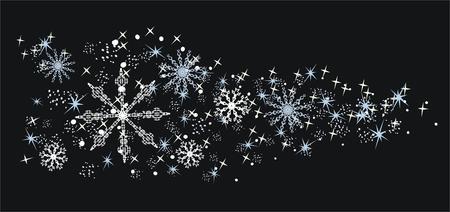 Christmas decorative elements Pattern Illusztráció