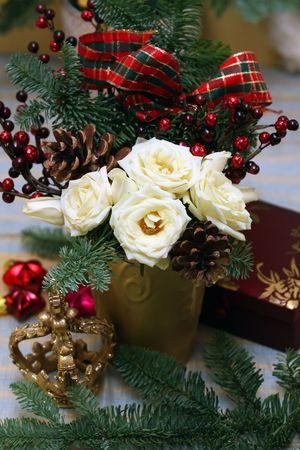 Christmas arrangement photo