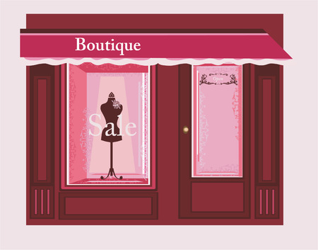 Chic Boutique Illustration