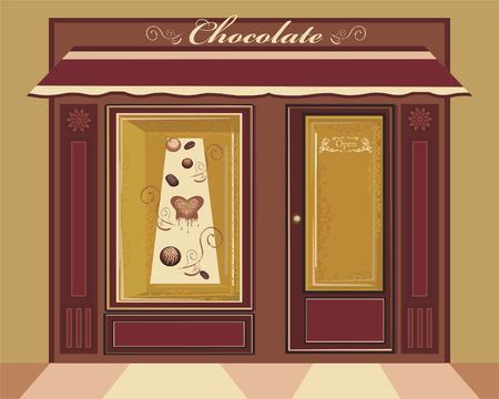 candy shop: Candy shop Illustration
