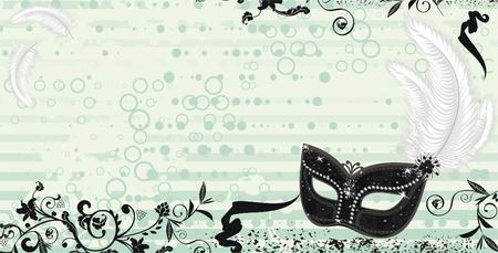 Mask Illusztráció