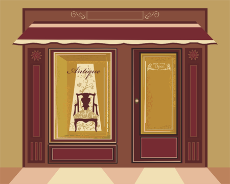 Antique shop Vector