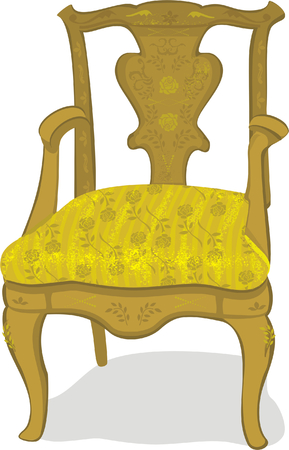 antique chair Stock Vector - 4311696