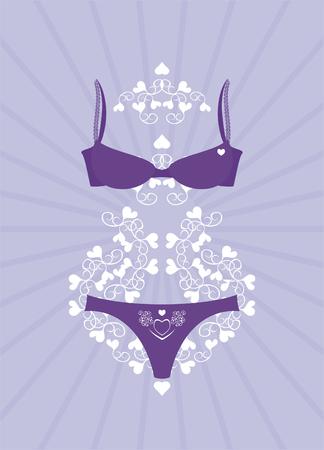 lingerie Stock Vector - 4378679