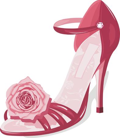 couture fashion shoe