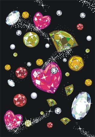 Jewels Stock Vector - 5376315