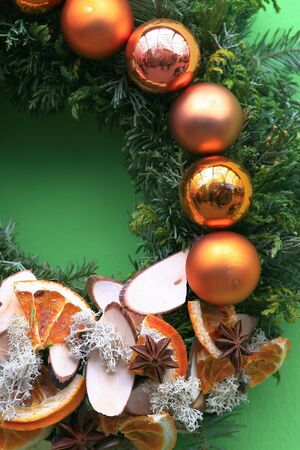 Christmas wreath Stock Photo - 5744460