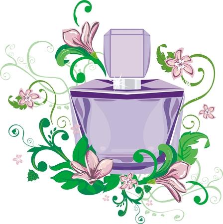 essential:  perfume Illustration