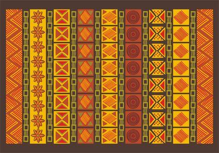 Ethnic Pattern  Stock Vector - 7141038