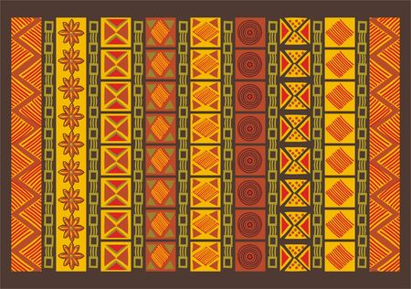 south african: Ethnic Pattern  Illustration