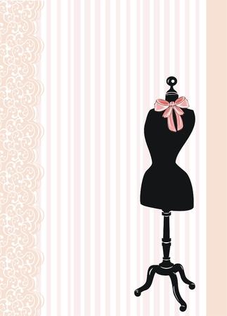 dress form  向量圖像
