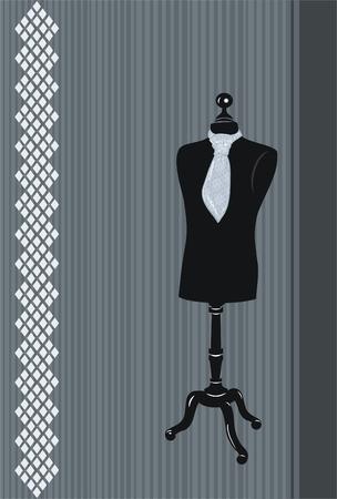 Dress form  Stock Vector - 8734277