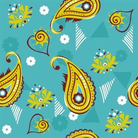 Ethnic Pattern  Ilustracja