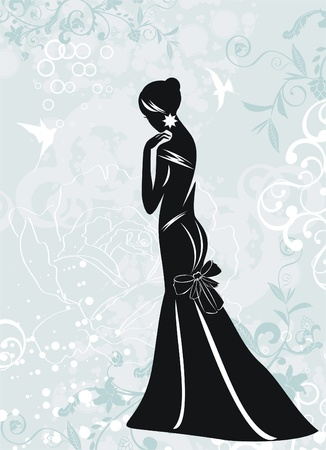 Fashion woman Stock Vector - 9214161