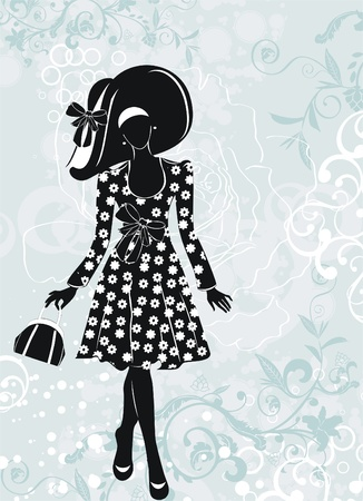 fashion girl  Illustration