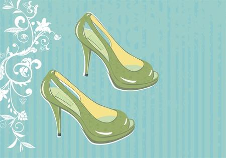 fashion shoes  Illustration