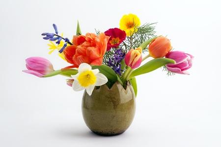 arreglo floral: Pascua composición Foto de archivo