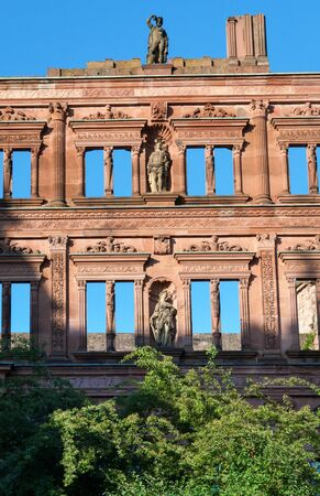 heidelberg: The ruins of Heidelberg Castle, Germany
