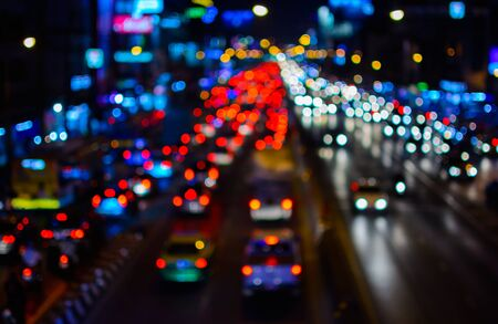 trafic: night traffic blur background.