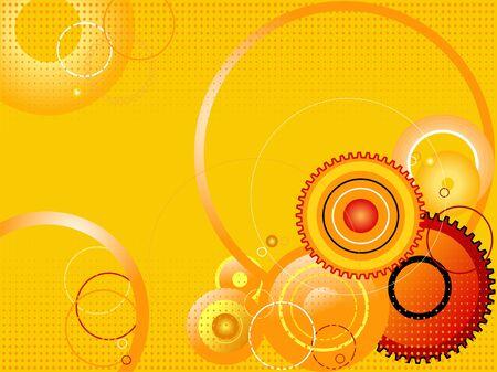 High-tech abstraction Vector