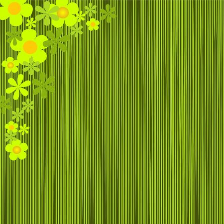 vector flowers: Floral pattern