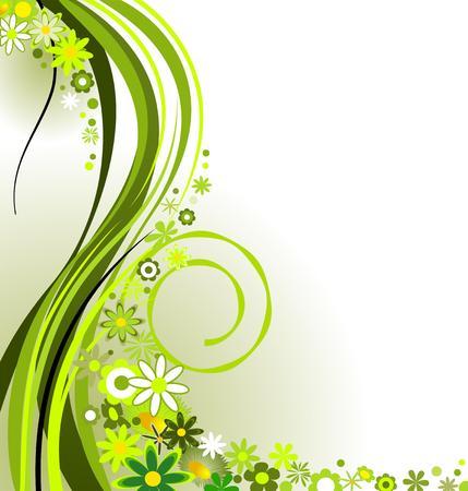springtime: Springtime in green
