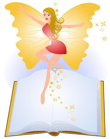 Fairytale book Vector