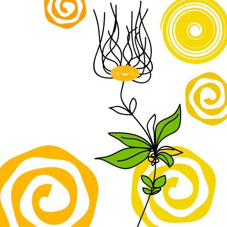 rejuvenation: Abstract floral background