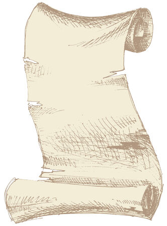 ancient papyrus: Old parchment with grunge texture