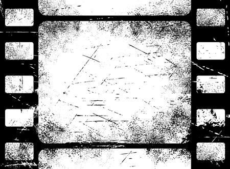 Old filmstrip background