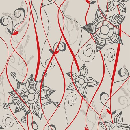 Floral seamless pattern Stock Vector - 7507920